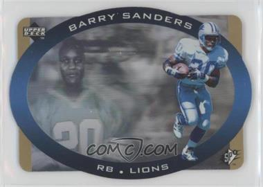 1996 SPx - [Base] - Gold #16 - Barry Sanders