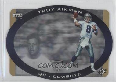 1996 SPx [???] #11 - Troy Aikman