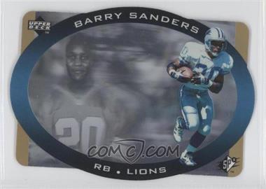 1996 SPx [???] #16 - Barry Sanders