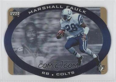 1996 SPx [???] #19 - Marshall Faulk