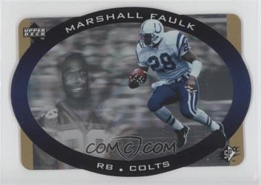 1996 SPx Gold #19 - Marshall Faulk