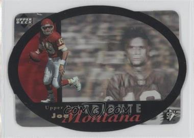 1996 SPx Joe Montana Tribute #UDT-19 - Joe Montana