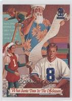 Santa Claus, Troy Aikman