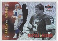 Troy Aikman, Heath Shuler