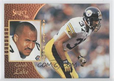 1996 Select Artist's Proof #66 - Carnell Lake