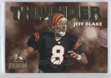 1996 Skybox Premium - Thunder & Lightning #6 - Jeff Blake, Carl Pickens