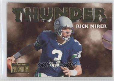 1996 Skybox Premium Thunder & Lightning #10 - Rick Mirer, Chris Warren