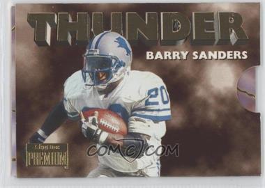 1996 Skybox Premium Thunder & Lightning #2 - Barry Sanders