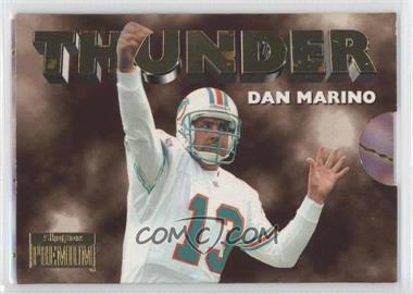 1996 Skybox Premium Thunder & Lightning #4 - Dan Marino, O.J. McDuffie