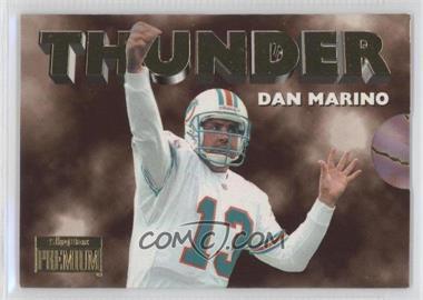 1996 Skybox Premium Thunder & Lightning #4 - Dan Marino