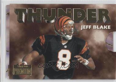1996 Skybox Premium Thunder & Lightning #6 - Jeff Blake, Carl Pickens