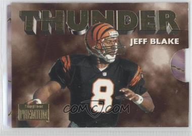 1996 Skybox Premium Thunder & Lightning #6 - Jeff Blake