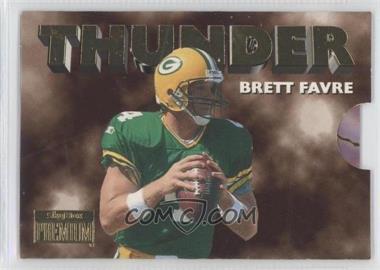 1996 Skybox Premium Thunder & Lightning #7 - Brett Favre, Robert Brooks