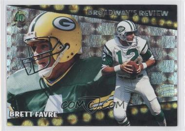 1996 Topps Broadway's Review #BR4 - Brett Favre