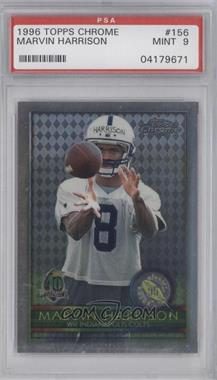 1996 Topps Chrome #156 - Marvin Harrison [PSA 9]