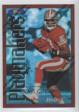 1996 Topps Finest - [Base] - Refractor #175 - Jerry Rice