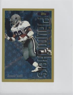 1996 Topps Finest - Gold Jumbo #18 - Emmitt Smith