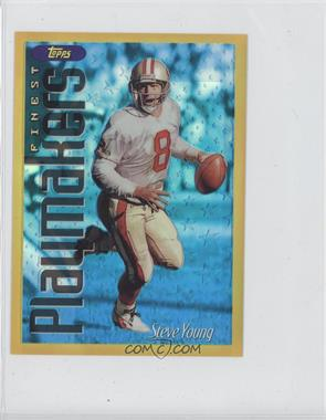 1996 Topps Finest [???] #13 - Steve Young