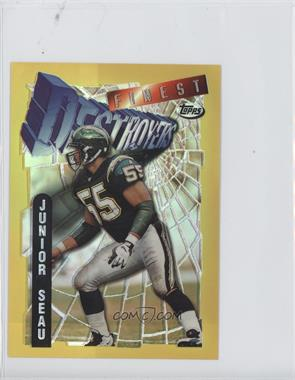 1996 Topps Finest [???] #22 - Junior Seau