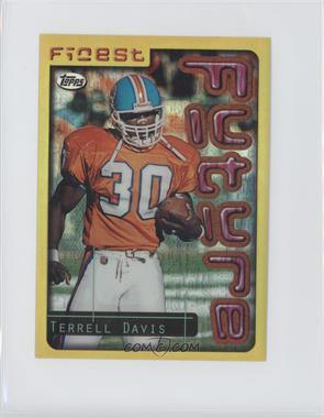 1996 Topps Finest [???] #3 - Terrell Davis