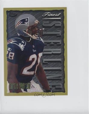 1996 Topps Finest [???] #7 - Curtis Martin