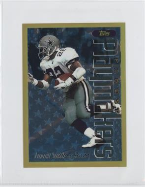 1996 Topps Finest Gold Jumbo #18 - Emmitt Smith