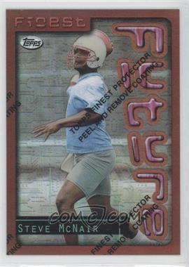 1996 Topps Finest Refractor #22 - Steve McNair