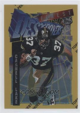1996 Topps Finest #75 - Carnell Lake