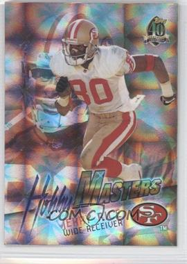 1996 Topps Hobby Masters #HM8 - Jerry Rice