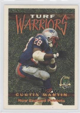 1996 Topps Turf Warriors #TW10 - Curtis Martin