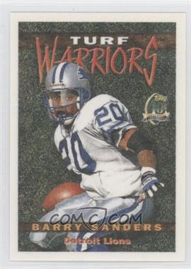 1996 Topps Turf Warriors #TW20 - Barry Sanders
