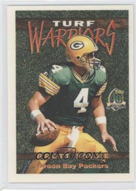 1996 Topps Turf Warriors #TW5 - Brett Favre