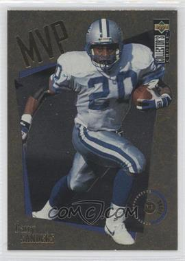 1996 Upper Deck Collector's Choice - MVPs - Gold #M16 - Barry Sanders