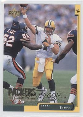 1996 Upper Deck Collector's Choice Green Bay Packers #1 - Brett Favre