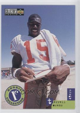 1996 Upper Deck Collector's Choice Update - [Base] #U59 - Terrell Owens