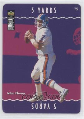 1996 Upper Deck Collector's Choice Update - You Make the Play #Y25 - John Elway
