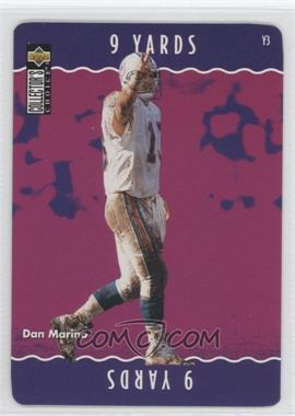 1996 Upper Deck Collector's Choice Update - You Make the Play #Y48 - Dan Marino