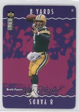 1996 Upper Deck Collector's Choice Update - You Make the Play #Y7 - Brett Favre