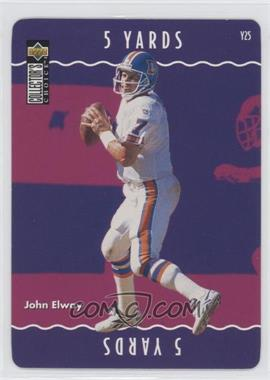 1996 Upper Deck Collector's Choice Update You Make the Play #Y25 - John Elway