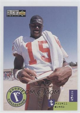 1996 Upper Deck Collector's Choice Update #U59 - Terrell Owens