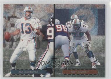 1996 Upper Deck Silver Collection - Helmet Cards #AE3 - Dan Marino, Billy Milner