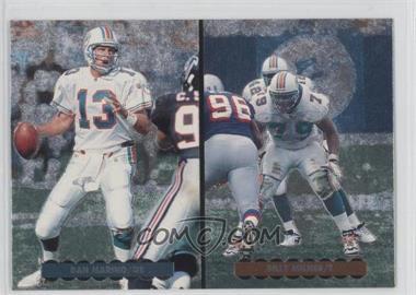 1996 Upper Deck Silver Collection - Helmet Cards #AE3 - Dan Marino, Billy Milner