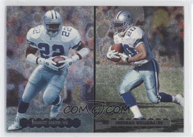 1996 Upper Deck Silver Collection - Helmet Cards #NE5 - Emmitt Smith, Sherman Williams