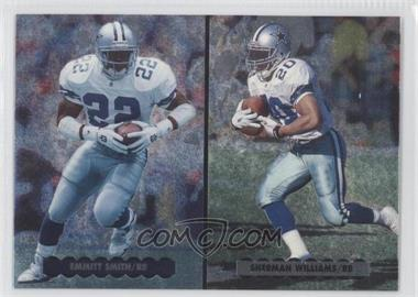 1996 Upper Deck Silver Collection [???] #NE5 - Emmitt Smith, Sherman Williams