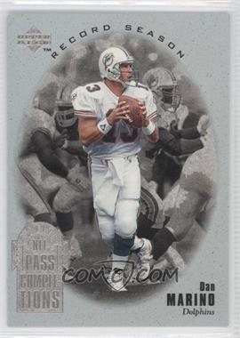 1996 Upper Deck Silver Collection [???] #RS1 - Dan Marino