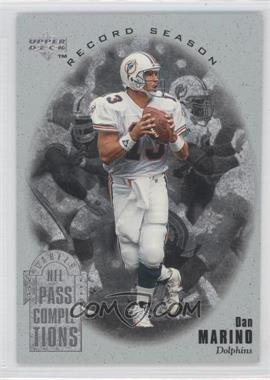 1996 Upper Deck Silver Collection Dan Marino Record Season #RS1 - Dan Marino