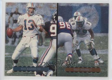 1996 Upper Deck Silver Collection Helmet Cards #AE3 - Dan Marino, Billy Milner