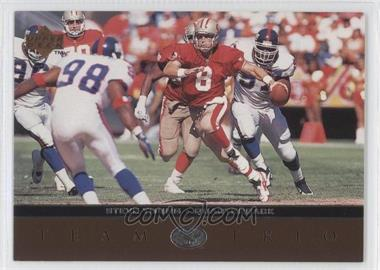 1996 Upper Deck Team Trio #TT44 - Steve Young