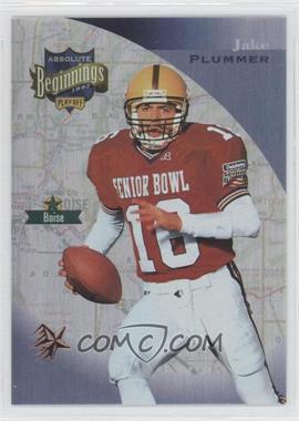 1997 Absolute Beginnings - [Base] - Bronze Redemption #142 - Jake Plummer
