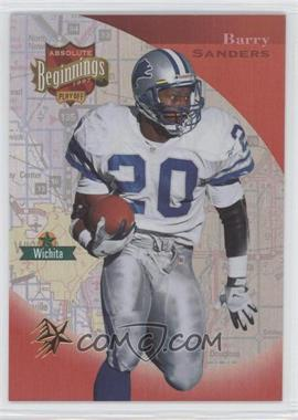 1997 Absolute Beginnings - [Base] - Gold Redemption #183 - Barry Sanders